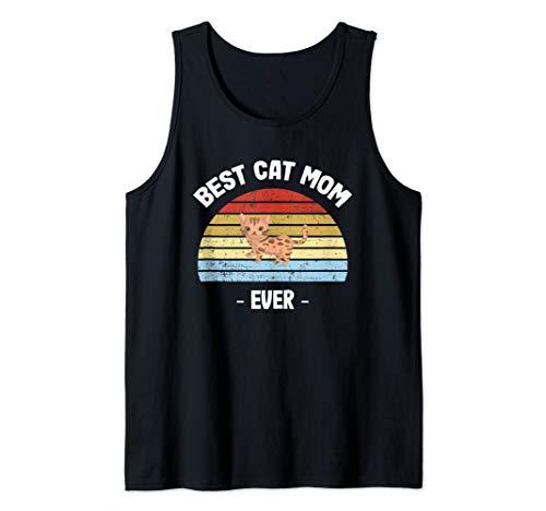 Bengal Cat Mom Gift Tank Top