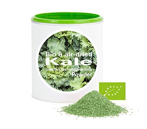 Cavolo Riccio in Polvere - ricco di vitamine|Biologica|vegano|crudo|pura nutritivo|no additivo|Good Nutritions|150g