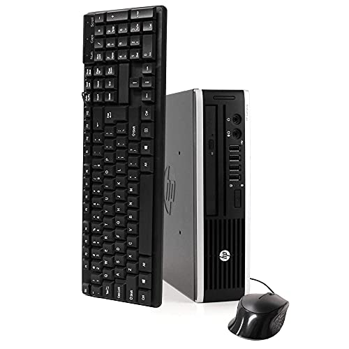 HP Elite 8300 Ultra Small Slim High Performance Business Computer PC (Intel 3470s 2.9Ghz), 8GB RAM, 120GB Brand New SSD, Wireless WIFI, USB 3.0) Windows 10 Professional (Renewed)