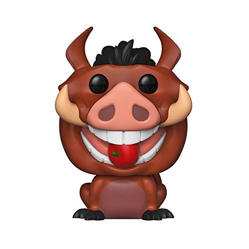 Funko - Pop! Disney El Rey León Figurina Luau Pumba, Multicolor (36402)