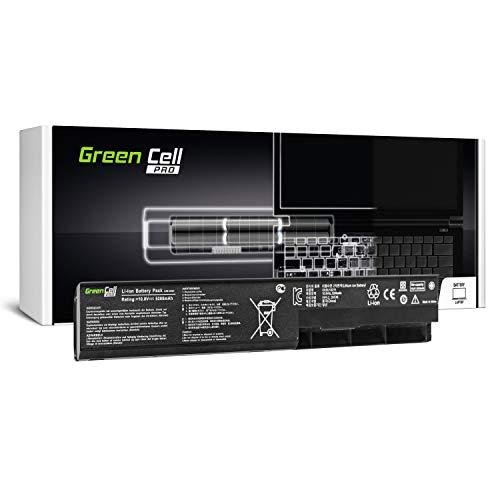 Green Cell® PRO Serie A31-X401/A32-X401/A41-X401 Batería para ASUS X301 X301A X401 X401A X401U X501 X501A X501U Ordenador (Las Celdas Originales Samsung SDI, 6 Celdas, 5200mAh, Negro)