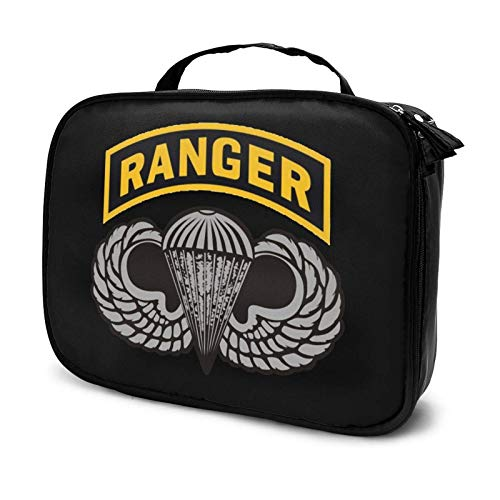 Us Army Ranger Tab Makeup Bag Cosmetic Organizer Toiletry Beauty Case Travel Pouch