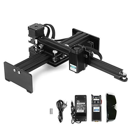 KKmoon 30w macchina per incisione la-ser Mini Desktop La-ser Engraver Printer Intagliatore portatile DIY La-ser Logo Mark Printer Area di lavoro 170 * 200mm
