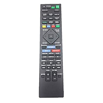 Rlsales Replacement Remote Control for RM-ADP117 for Sony BDV-N5200W BDV-N7200W Disc Home Theatre System