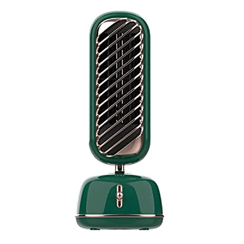 xllLU Difusor de aire oscilante USB humidificador portátil 230 ml pequeño humidificador de niebla fría para bebés oficina dormitorio dormitorio ventilador giratorio