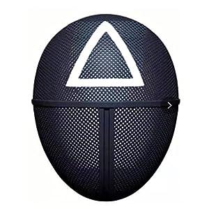 Il Calamaro Maschera di Gioco! ABS Masquerade Maschera per Adulti Cosplay Costume di Halloween E Festa di Natale Accessori