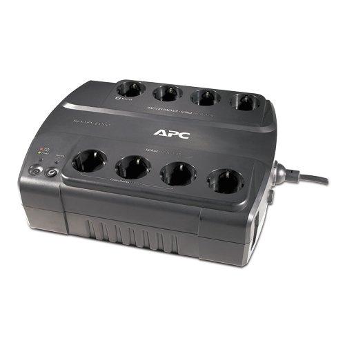 APC Back-UPS ES - BE550G-GR - Unterbrechungsfreie Stromversorgung 550VA (8 Schuko Ausgänge, Überspannungsschutz)