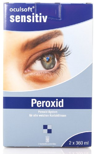 Auch gut in der Leistung Oculsoft® Sensitive Peroxide Pack 2 x 360 ml