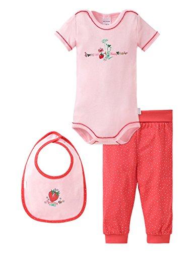 Schiesser AG Schiesser Baby-Mädchen 151393 Unterwäsche-Set, Mehrfarbig (Sortiert 1 901), 62 (Herstellergröße: 062) (3er Pack)