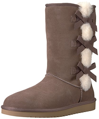 Koolaburra by UGG Women's Victoria Tall Fashion Boot, Cinder, 11 M US