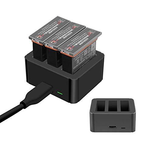 Hensych Acculader Hub Intelligent fasten opladen Intelligent lithium batterij oplader voor DJI Osmo Action