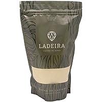"""LADEIRA Harina de castaña amparada por la Marca de Garantia """"Castaña del Bierzo"""" , sin gluten y sabor dulce. 515 g"""