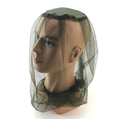 Jiayuane Filet de moustiquaire à tête de Moustique Chapeau de Moustique Protecteur de Visage de Moustique pour Voyager randonnée pédestre Camping ou pêche