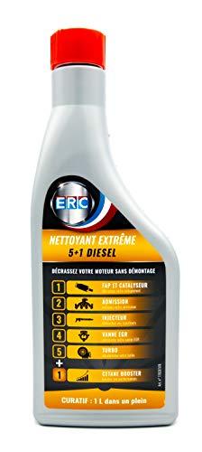ERC Limpiador Extrême 5+1 Vehículo Diésel Reluciente, Su Motor   Ideal Antes Control Técnica - Aditivo Premium (1l)