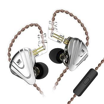 KZ ZSX Phenomenal 5BA+1DD 12 Unit Hybrid Technology Earphones 0.75mm 2 Pin Detachable Cable  with Mic Black