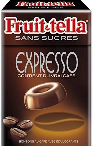 Fruittella Bonbons sans Sucres Expresso Boite Refermable à Emmener Partout/Partager 49 g 1 Unité