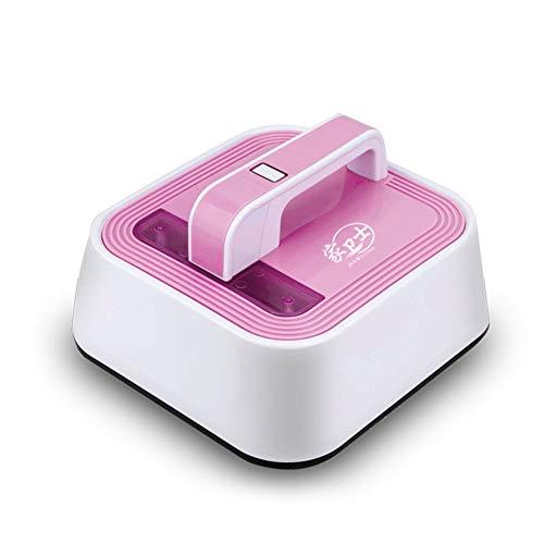 QWEAS Milben Handstaubsauger, Staubsauger Milbensauger handstaubsauger staubsauger Roboter UV 12000 Pa für Betten Matratzen Sofas Kissen Teppiche,Rosa
