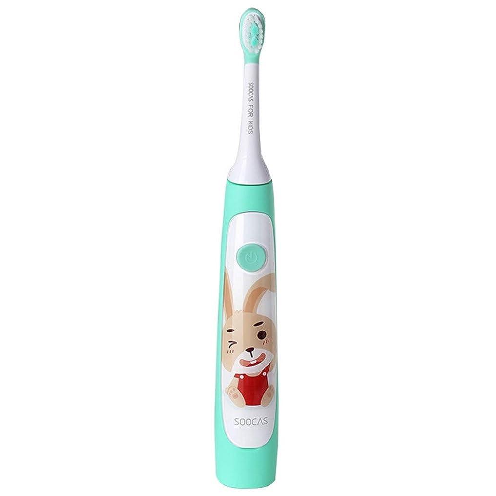 センサー難破船甘やかす子供の再充電可能な超音波歯ブラシの歯科治療の歯ブラシのためのかわいい防水音波の電動歯ブラシ、