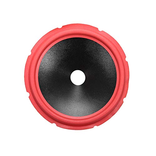 For Sale! uxcell 10 inches Paper Speaker Cone Subwoofer Drum Paper 1.4 inches Coil Diameter with Red...