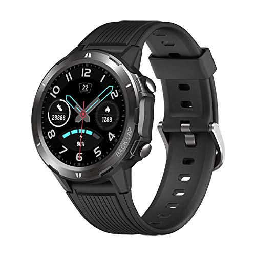 LTLGHY Smart Watch Fitness Tracker 1.3 Inch Full Touch Screen 5ATM Waterproof with Heart Rate Monitor Activity Tracker Step Counter Calories Sleep Monitor Wrist Watch for Men Women,Black