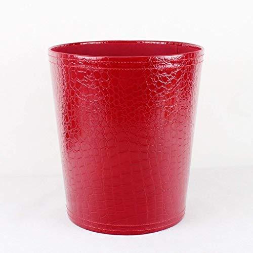 WYJW Huishoudelijke vuilnisbak creatieve vuilnis metalen creatieve keuken deodorant afval 8L