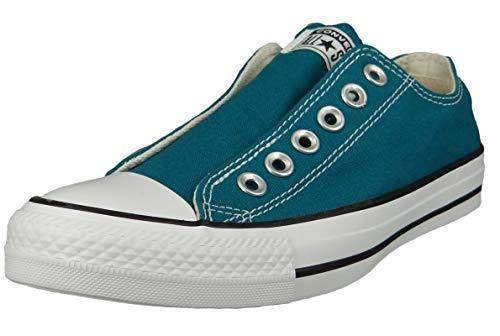 Converse Damen Low Sneaker Chuck Taylor All Star Slip Seasonal Color 170158C Grün, Groesse:37.5 EU