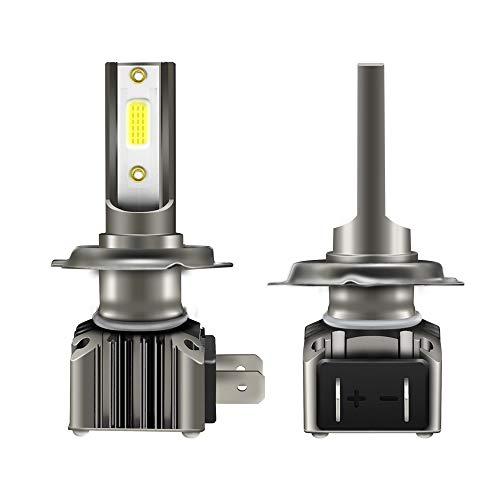 WWSUNNY H8/H9/H11 Faros Delanteros Bombillas LED 36 W 6000LM 6000K Super Brillante Lámpara de Luces Blancas para Coches, Vehículos, IP68 Impermeable (2 Piezas)