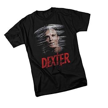 Plastic Wrap - Dexter Adult T-Shirt XXX-Large Black