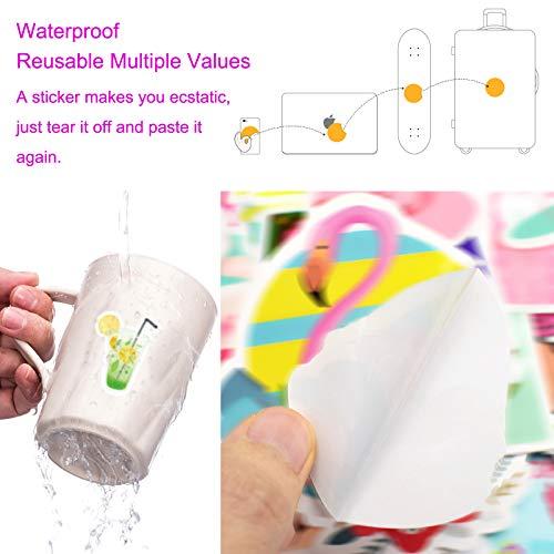 PietyPet Niedliche Tieren Aufkleber 200 Stück, Wasserdicht Vinyl Stickers Graffiti Style Decals für Wasserflasche und Auto Motorräder Fahrrad Skateboard Snowboard Gepäck Laptop