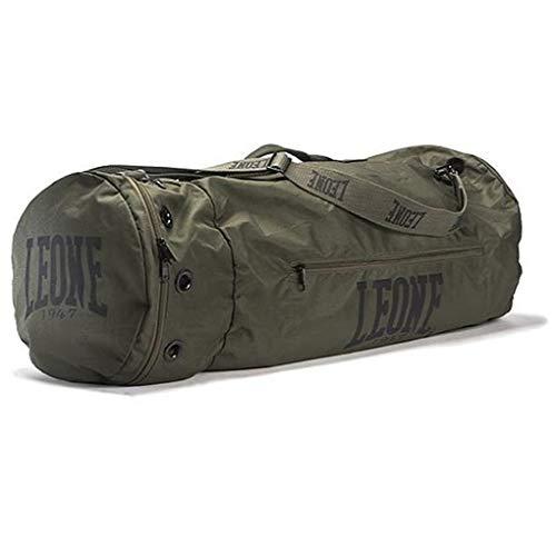 Leone 1947 Martial Arts Bag Commando - Große Sporttasche Trainingstasche Gym Tasche für Kampfsport Fitness Boxen Muay Thai Multifunktionsfächer