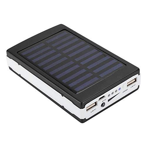 Gedourain Banco de energía Solar con una Capacidad de 7500 lámpara portátil al Aire Libre de Puerto Dual USB para Carga múltiple