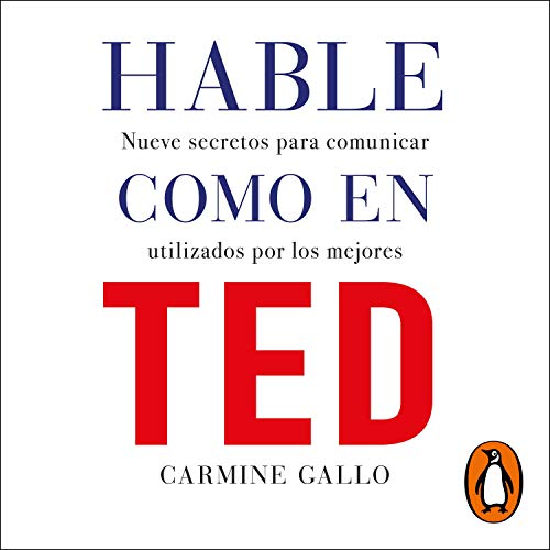 Hable como en TED [Talk Like in TED] audiobook cover art