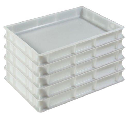 5x Pizzaballenbehälter Euro-Box Eurobox Aufbewahrungsbox 60x40cm Gastlando
