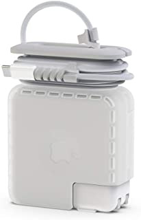 Travel Cord Organizer for Apple MacBook Charger, Protective Case for Magsafe USB C Power Adapter 85W 87W 96W Mac Charging ...