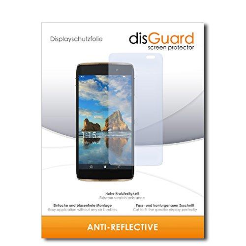 disGuard® Bildschirmschutzfolie [Anti-Reflex] kompatibel mit Alcatel Idol 4 Pro [3 Stück] Entspiegelnd, Matt, Antireflektierend, Extrem Kratzfest, Anti-Fingerabdruck - Panzerglas Folie, Schutzfolie