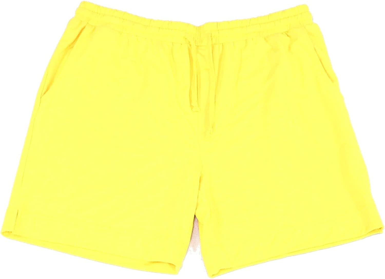 Club Room Mens Sleepwear Large Jersey Knit Pajama Shorts Yellow L