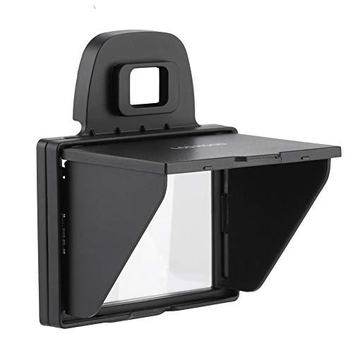 Camerahoes LCD-zonwerende folie met scharnierende hoes en opvouwbaar ontwerp om verblinding te voorkomen. Compatibel met veel camera's/zonwerende folie. Gemakkelijk te installeren en te verwijderen