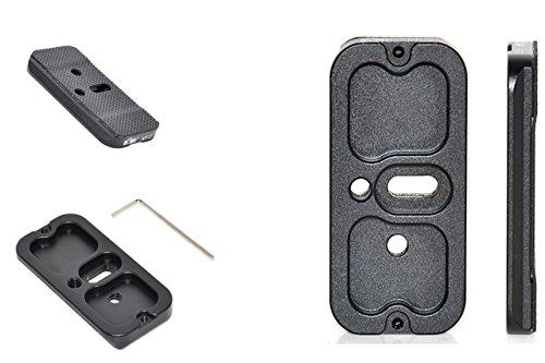 Arca Swiss kompatible Schnellwechselplatte PROFOX Typ I passend für z.B. Acratech/Benro/Feisol/Foba/FLM/Graf/Kirk/Markins/Novoflex/Studioball/Wimberley u.v.a.