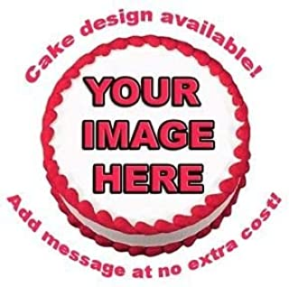 Create Your Own Custom Edible Cake Topper Photo Cake Frosting Icing Topper Sheet Personalized Custom Customized Birthday Party (8