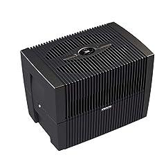 Venta luchtwasser LW45 COMFORTPlus bevochtiger en luchtreiniger voor kamers tot 80 m², briljant zwart, met digitale controle*