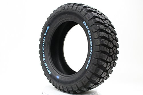 6. BFGoodrich Mud-Terrain T/A KM2 All-Terrain Radial Tire - 35x12.50R17/D 119Q