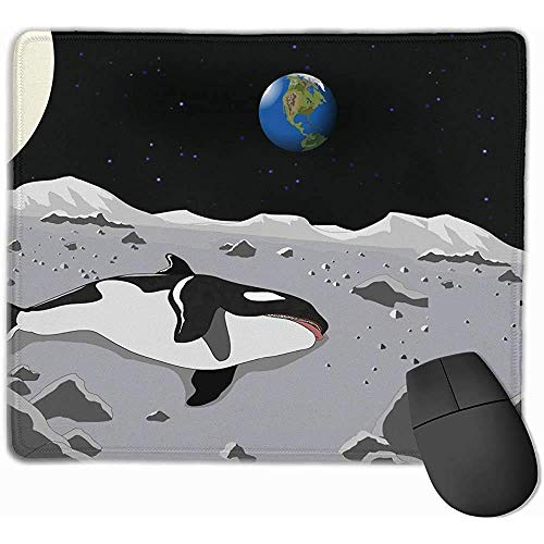 25X30CM Whale Dying Mobile Gaming Mouse Pad