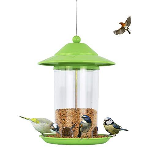JXXDDQ Mangeoire à Oiseaux poignée Jardin Arbre Suspendu Jardin Oiseaux Sauvages Alimentation en Plein air conteneur de Nourriture