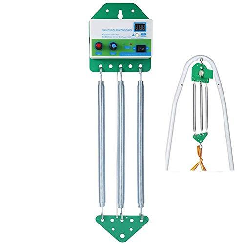 Baby Swing, Baby Rocker Controller con Temporizador Ajustable Control de Cuna eléctrica Colgante para bebé Spring Cradle Baby Hamaca, Adecuado Desde el Nacimiento/recién Nacido