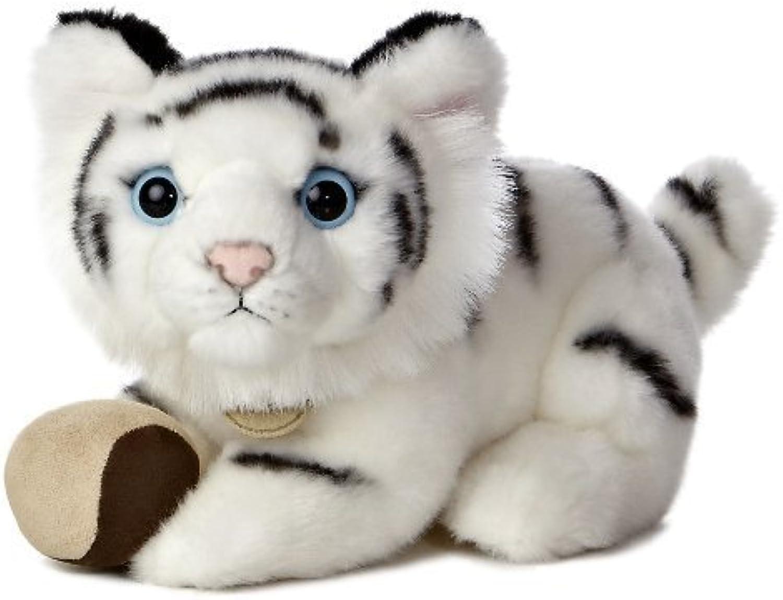 Aurora World Miyoni Tots White Tiger Cub Plush with Ball, 9 by Aurora World