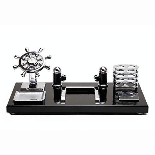 Schreibtisch, moderner Stifthalter, Dekorationen, Schreibtischdekoration, kreative Einrichtung, Weihnachtsgeschenke, MDF-Material (Size : S)