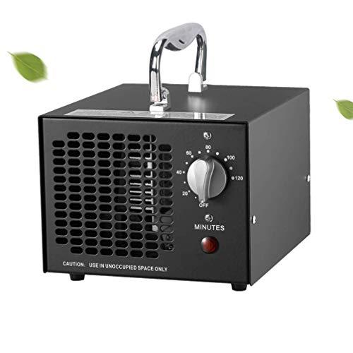 MaquiGra Generador de Ozono Industrial Pulificador de Aire en Ozono 3500MG 03 Eliminar el formaldehído, esterilizar, Eliminar el Olor (Negro)