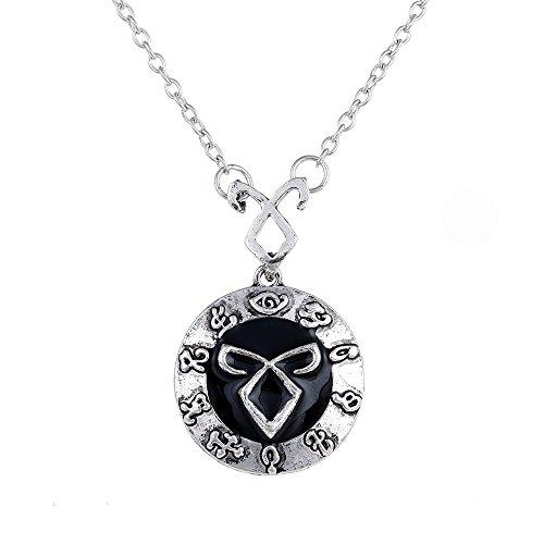 Lureme Angelic Power Rune Halskette Inspiriert von The Mortal Instruments Stadt der Knochen (nl005365)