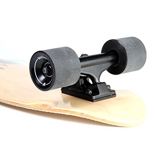 Magneto Mini Cruiser Ska   teboard Cruiser | Short Board | Canadian Maple Deck - Designed for Kids, Teens and Adults … (Heart Beat)