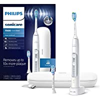 Philips Sonicare HX9690/06 ExpertClean 7500 Bluetooth Rechargeable Electric Toothbrush (White)
